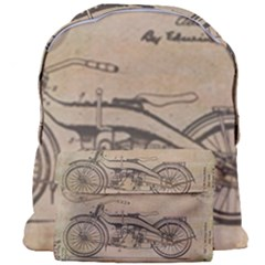 Motorcycle 1515873 1280 Giant Full Print Backpack by vintage2030