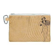 Flapper 1515869 1280 Canvas Cosmetic Bag (large)