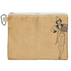 Flapper 1515869 1280 Canvas Cosmetic Bag (xxl) by vintage2030