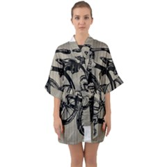 Tricycle 1515859 1280 Quarter Sleeve Kimono Robe