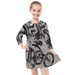Tricycle 1515859 1280 Kids  Quarter Sleeve Shirt Dress