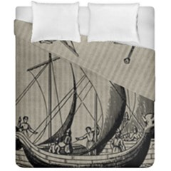 Ship 1515875 1280 Duvet Cover Double Side (california King Size) by vintage2030
