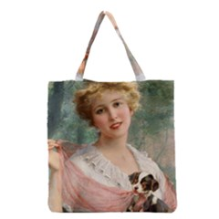 Vintage 1501585 1280 Copy Grocery Tote Bag by vintage2030