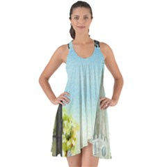 Town 1660455 1920 Show Some Back Chiffon Dress
