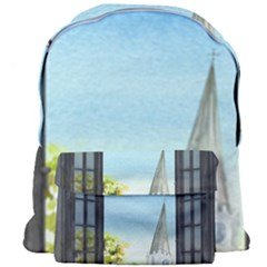 Town 1660455 1920 Giant Full Print Backpack by vintage2030