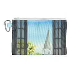 Town 1660455 1920 Canvas Cosmetic Bag (large) by vintage2030