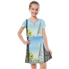 Town 1660455 1920 Kids  Cross Web Dress