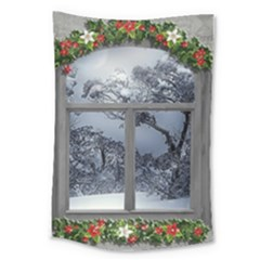 Winter 1660924 1920 Large Tapestry by vintage2030