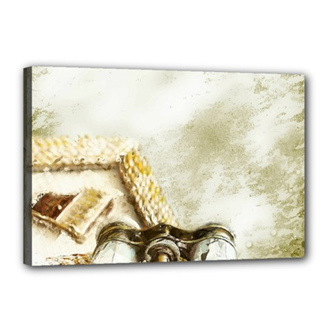 Background 1660942 1920 Canvas 18  X 12  (stretched) by vintage2030