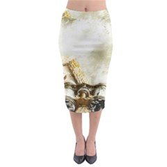 Background 1660942 1920 Midi Pencil Skirt by vintage2030