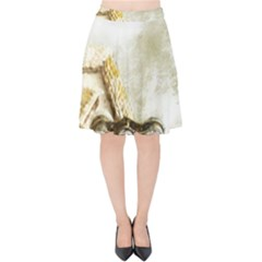 Background 1660942 1920 Velvet High Waist Skirt by vintage2030