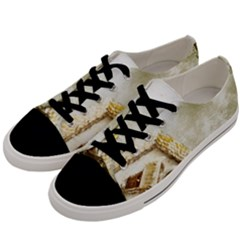 Background 1660942 1920 Men s Low Top Canvas Sneakers by vintage2030