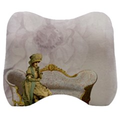 Background 1659612 1920 Velour Head Support Cushion by vintage2030