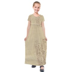 Background 1659638 1920 Kids  Short Sleeve Maxi Dress by vintage2030