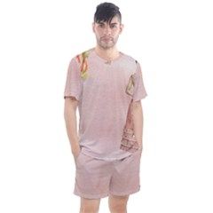 Background 1659765 1920 Men s Mesh Tee And Shorts Set