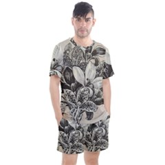 Flowers 1776382 1280 Men s Mesh Tee And Shorts Set by vintage2030