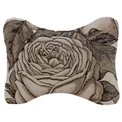Flowers 1776630 1920 Velour Seat Head Rest Cushion by vintage2030