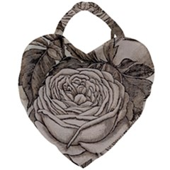 Flowers 1776630 1920 Giant Heart Shaped Tote by vintage2030