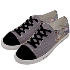 Background 1775352 1280 Men s Low Top Canvas Sneakers by vintage2030