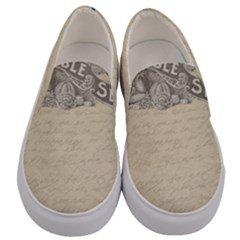 Background 1776472 1920 Men s Canvas Slip Ons