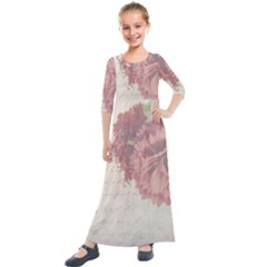 Background 1775373 1920 Kids  Quarter Sleeve Maxi Dress by vintage2030