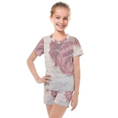 Background 1775373 1920 Kids  Mesh Tee And Shorts Set