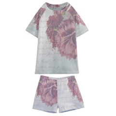 Background 1775373 1920 Kids  Swim Tee And Shorts Set by vintage2030