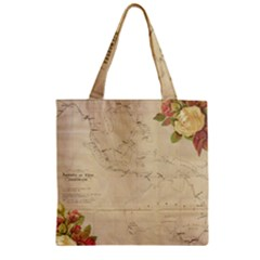 Background 1775383 1920 Zipper Grocery Tote Bag by vintage2030
