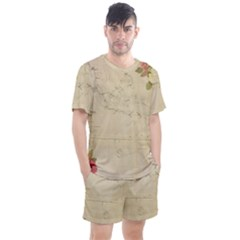 Background 1775383 1920 Men s Mesh Tee And Shorts Set by vintage2030
