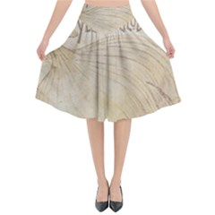 Background 1776456 1280 Flared Midi Skirt by vintage2030