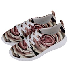 Vintage Rose Women s Lightweight Sports Shoes by vintage2030