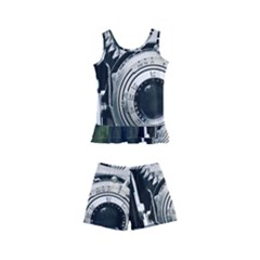 Photo Camera Kid s Boyleg Swimsuit