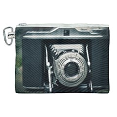 Photo Camera Canvas Cosmetic Bag (xl) by vintage2030