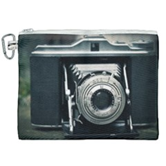 Photo Camera Canvas Cosmetic Bag (xxl) by vintage2030