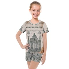 Building News Kids  Mesh Tee And Shorts Set