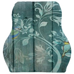 Green Tree Car Seat Velour Cushion  by vintage2030