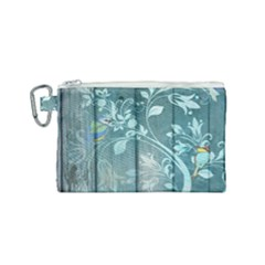 Green Tree Canvas Cosmetic Bag (small) by vintage2030