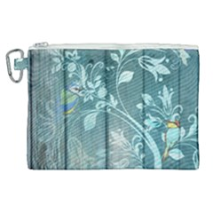 Green Tree Canvas Cosmetic Bag (xl) by vintage2030