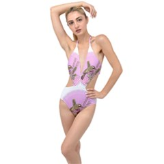 Tag 1763332 1280 Plunging Cut Out Swimsuit by vintage2030
