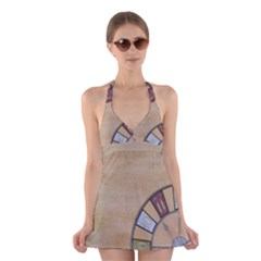 Circle Halter Dress Swimsuit  by vintage2030