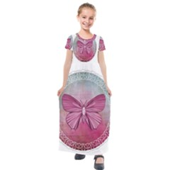 Tag 1763365 1280 Kids  Short Sleeve Maxi Dress by vintage2030