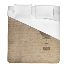 Letter Balloon Duvet Cover (full/ Double Size) by vintage2030