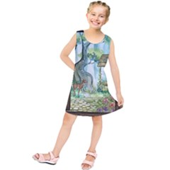 Town 1660349 1280 Kids  Tunic Dress by vintage2030