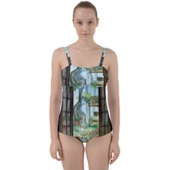 Town 1660349 1280 Twist Front Tankini Set by vintage2030