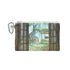 Town 1660349 1280 Canvas Cosmetic Bag (small) by vintage2030