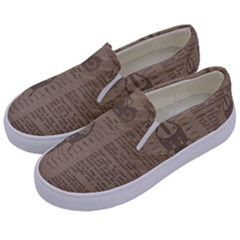 Background 1706636 1920 Kids  Canvas Slip Ons by vintage2030