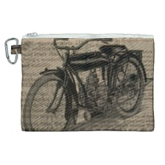 Bicycle Letter Canvas Cosmetic Bag (xl) by vintage2030