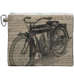 Bicycle Letter Canvas Cosmetic Bag (xxxl) by vintage2030