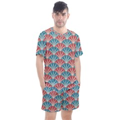 Seamless Patter 2284483 1280 Men s Mesh Tee And Shorts Set by vintage2030