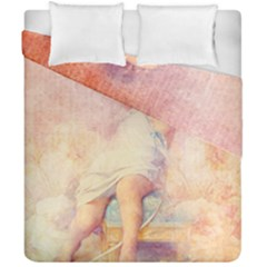 Baby In Clouds Duvet Cover Double Side (california King Size) by vintage2030